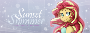 Sunset Shimmer - Confidently Beautiful by BuizelCream