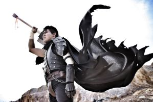 Berserk Guts the Black Swordsman by jerrystrife7