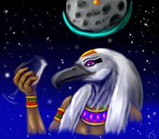 Arttrade - EgyptFreak1 - Thoth by Seth19931