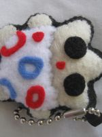 Togepi Plush Keychain by P-isfor-Plushes