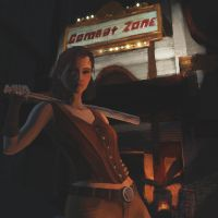 Fallout 4 - Cait by ant42onia