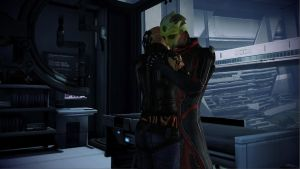 Mass Effect 3: Thane and Jack by Lootra