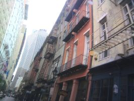 New Orleans architecture by JiraiyasLover