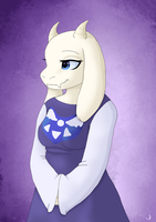 Toriel Portrait by MeannCat