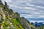 Stairway to heaven ? Do not! On the mountain peak! by miirex