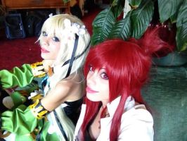 Fire and Wind Elsword cosplay by LilituhCosplay