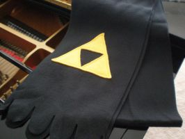 Triforce Scarf by Omonomopoeia