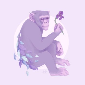 The Purple Chimp by Atarial