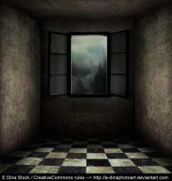 Premade BG Room with window 0.1 by E-DinaPhotoArt