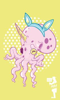 8 TENTACLES OF CUTE by THECHAINSAWYER