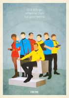 Star Trek poster by zpecter