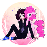 Pinkie Pie and Danny Sexbang :SPEEDPAINT: by CutieInk