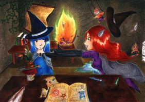 In the Laboratory by Irin