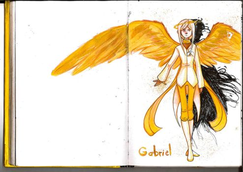 Gabriel by Whitefeatherink