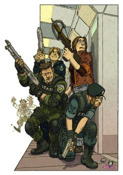 Resident Evil by pietro-ant