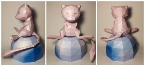 Mew Papercraft by goncalocamboa