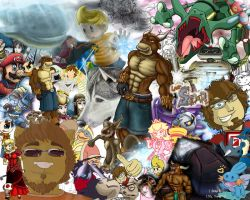 Oh, Mega Collage by Omegaro