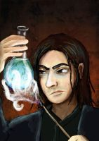 Harry Potter: Snape by sqbr