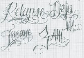 Relapse Lettering by 12KathyLees12