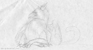 05.02.11 gryphon sketch by axe-ql