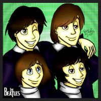 The Beatles 50th Anniversary by paigehebert1967