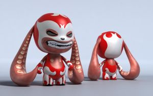 Lucha Tentacles by Creen-0