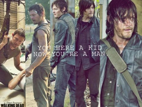 The Walking Dead WALLPAPER FANMADE  Daryl Dixon by PluemKP