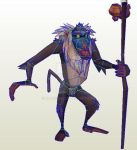 Rafiki W.I.P. by darcrash