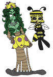 Vinette And Honey - OC's by JouPup