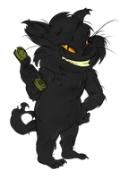 :CO:Black-Cat Prank by Blumestien