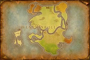 West Hyrule Map by TheRabidArtist