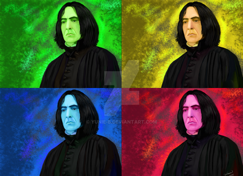 Potions Master's PopArt by Yunie-B