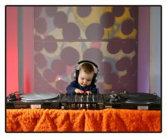 DJ Baby by moonzaiphotos