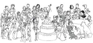 DAO: Birthday Party by SoniaCarreras
