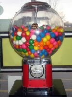 Bubble Gum Machine Large by SweetSoulSister