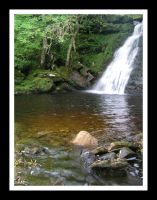 waterfall at sundhope by pinkzigzag
