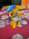 Mlp custom : Blaze in armor by PonetteDeFeu