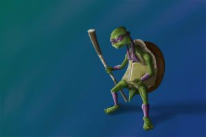 Old Age Mutant Ninja Turtle by Zoltan86