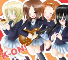 .:K-ON:. Hit the high notes by HimitsuNotebook