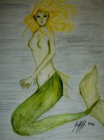 Delicate Mermaid by Athanton