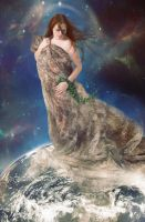 Gaia ~ Mother Earth by debzdezigns-lamb68