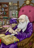 Wizard's Den 1024 Color by omegabrennus