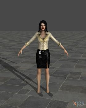 Dead Rising 2 Rebecca DOWNLOAD by TheBlenderTaper