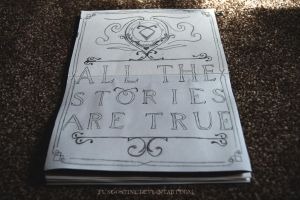 Typography #6   All The Stories Are True by fungostine