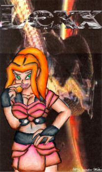 Lexx drawn 2 finished by Scifi-Fans