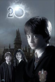 Harry Potter 20th Anniversary Poster by GiantessStudios101