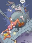 Lola Bunny wrecking b.... by Christo-LHiver