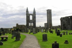 Scotland, St Andrews cathedral by elodie50a