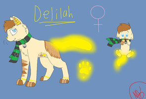 Delilah by nikkithedog3