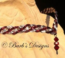 Hand Woven Wire Circlet by Barbsdesigns